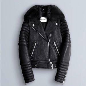 ARRIVALS Rainier leather moto jacket